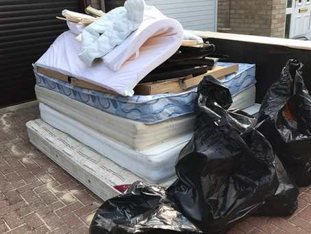 What you can't put into a skip and what you can do instead!