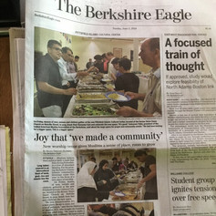 Pittsfield Islamic Center in the News
