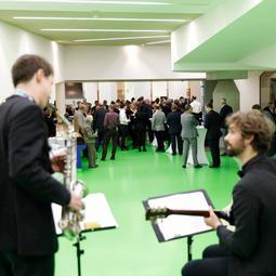 Staatsgalerie Janis-Ian-Duo Neues Schloss Stuttgart / Janis-Ian-Duo   Saxophon-Gitarren-Duo
