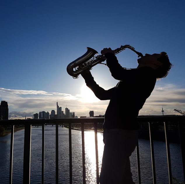 Skyline Frankfurt | Frankfurt Saxophonist
