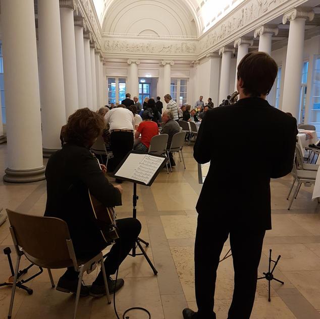 Schloss Rosenstein, Janis-Ian-Duo | Saxophon-Gitarren-Duo