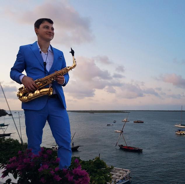 Lamu / Kenia | Janis Lugerth Saxophonist