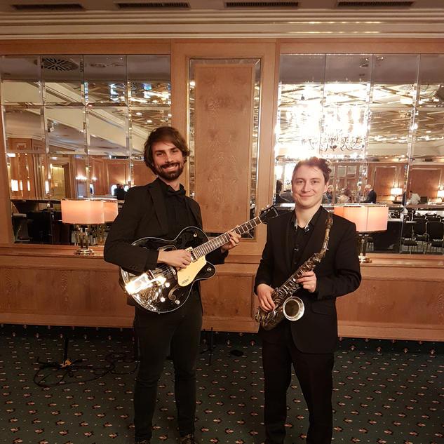 Maritim Hotel Stuttgart / Janis-Ian-Duo | Saxophon-Gitarren-Duo