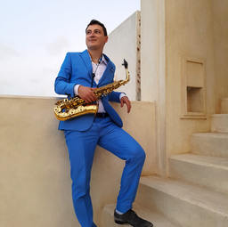 Lamu / Kenia   Janis Lugerth Saxophonist