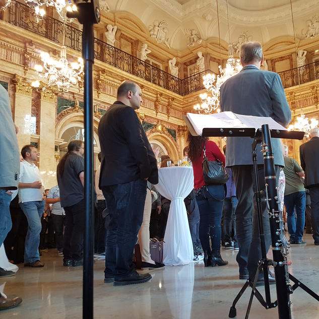 Neues Schloss Stuttgart / Janis-Ian-Duo | Saxophon-Gitarren-Duo