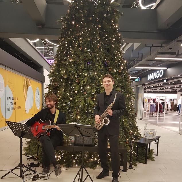 Kubus in Aalen Neues Schloss Stuttgart / Janis-Ian-Duo | Saxophon-Gitarren-Duo