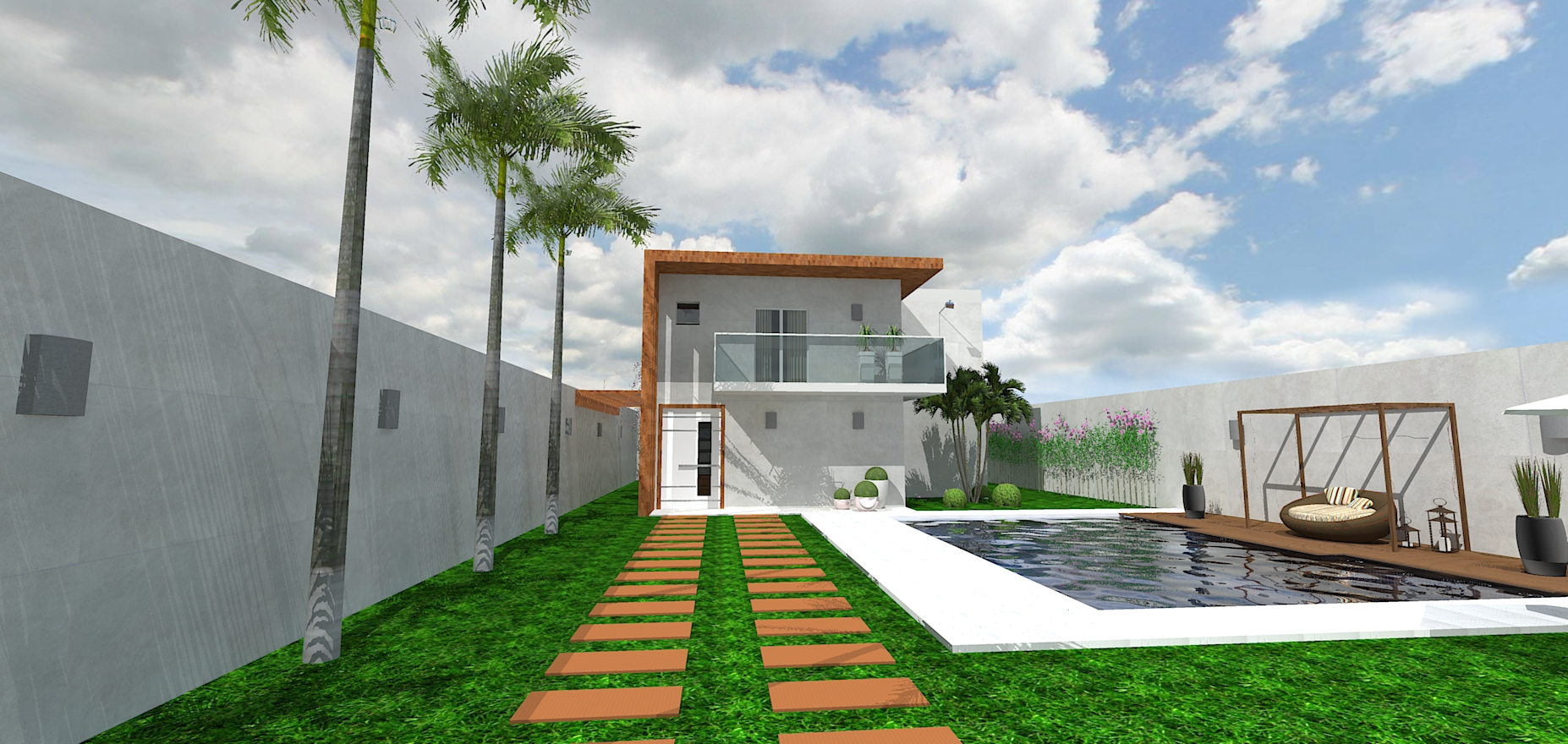 Projeto Casa Modelo