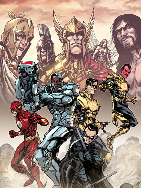 INJUSTICE COVERS