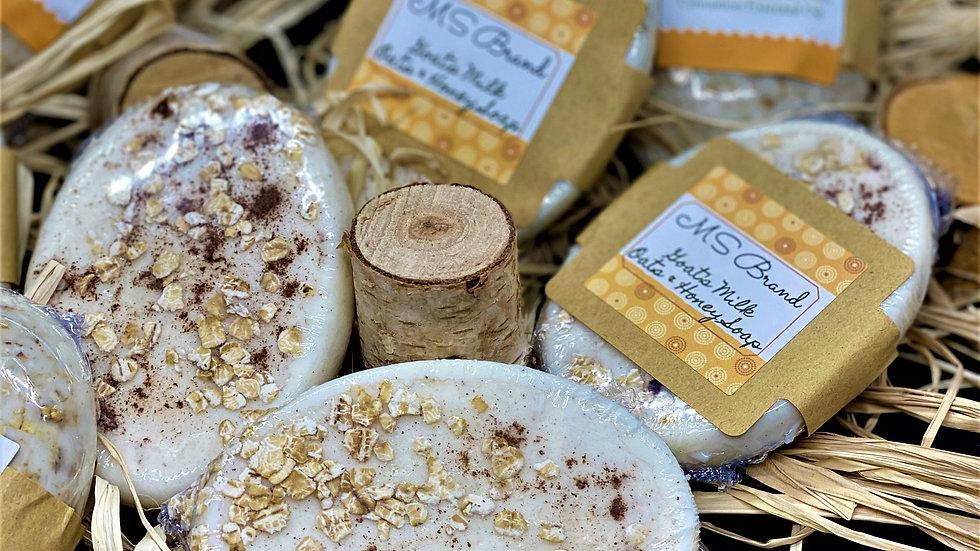 Oats and Honey Goats Milk Soap
