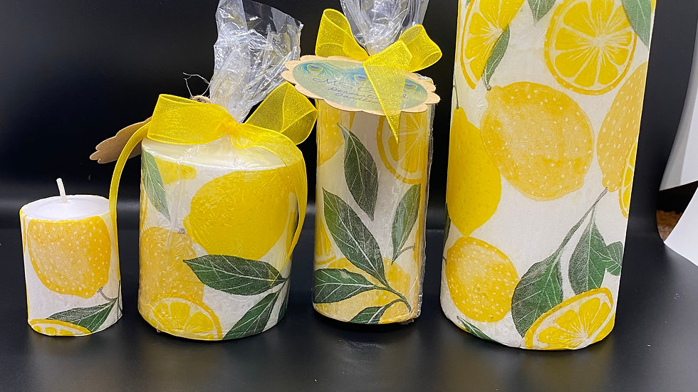 Assorted Print Candles