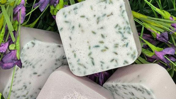 Lavender Sugar Scrub Soap Bar