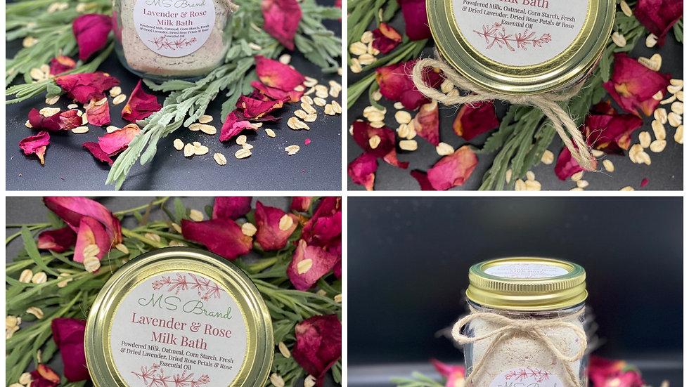 Lavender & Rose Oatmeal Milk Bath