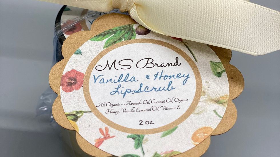 Vanilla and Honey Lip Scrub