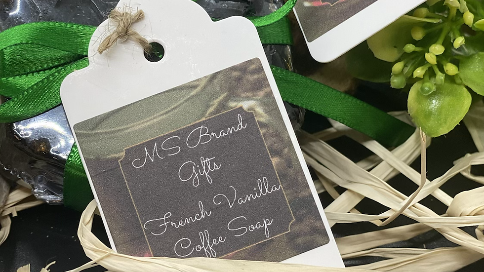 French Vanilla Coffee Soap