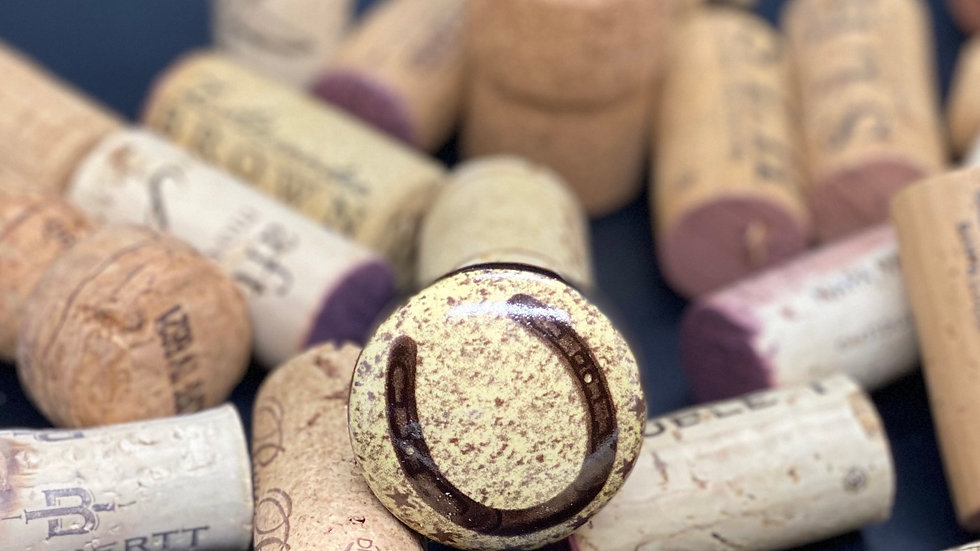 Horseshoe Wine Cork Stopper
