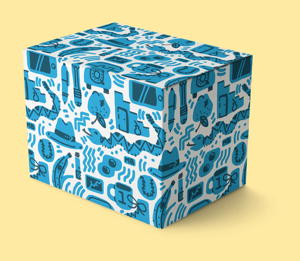 This is a box with a pattern on it because, why not.