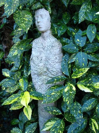 Sculptures from local artist Pam Foley
