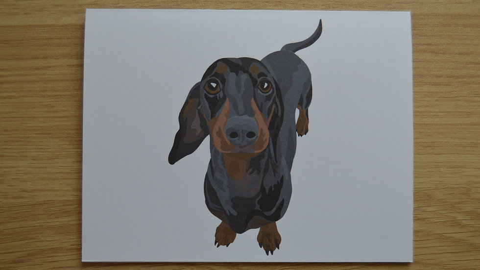 Dachshund Stationary