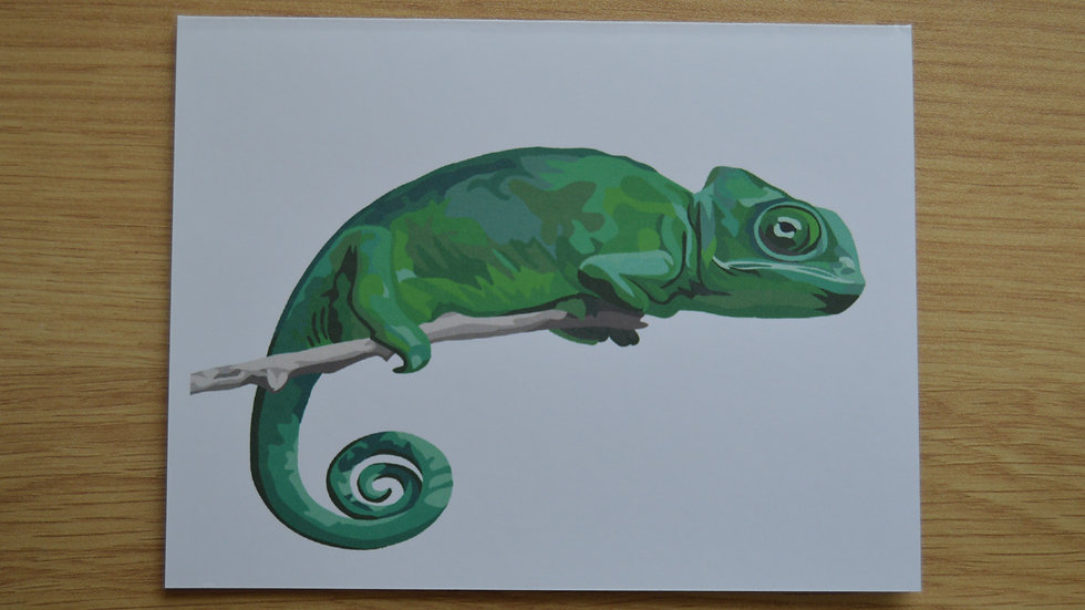 Chameleon Stationary