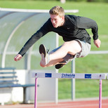 Outdoor training at Lee Valley Athletics Centre