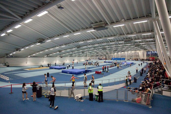 Event on the indoor track