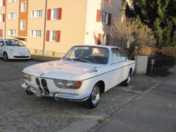 Restauration BMW 2000 C