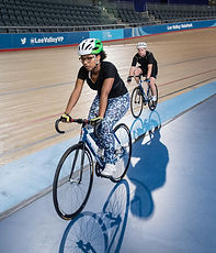 Track cycling at Lee Valley VeloPark