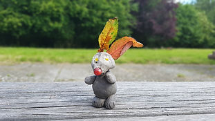 Clay rabbit