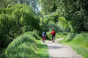 Cycling in Lee Valley Park