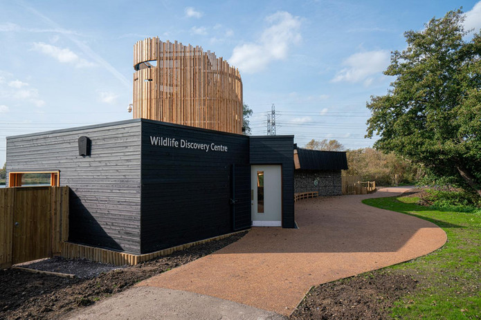Front of the Wildlife Dicovery Centre