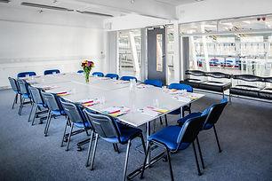 Image of meeting room boardroom style
