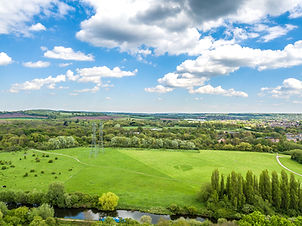 View over River Lee Country Park