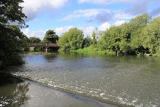 Water at Dobbs Weir