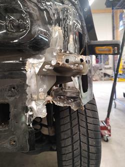 Reparatur Heckschaden