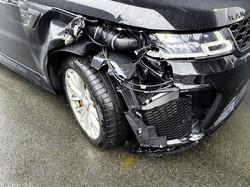 Range Rover Frontschaden
