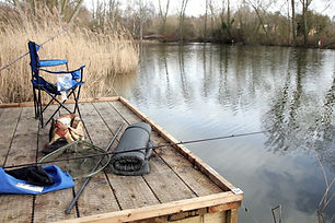 Angling venue in the Lee Valley