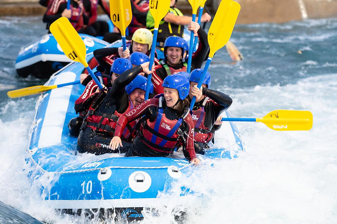 White water rating on man-made course in the Lee Valley