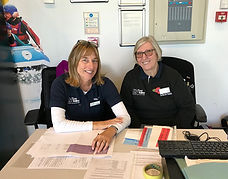 31-10-18 Jess and Debbie at WWC Communit