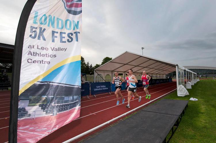 5K Fest at Lee Valley Athletics Centre