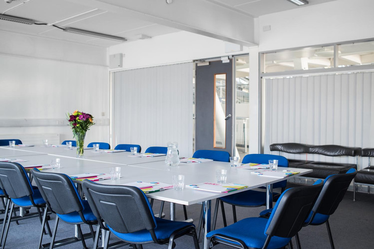 Blinds provide your meeting with privacy