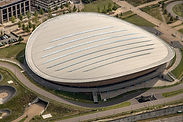Aerial image of Lee Valley VeloPark