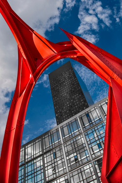 l'Araignée rouge de Calder