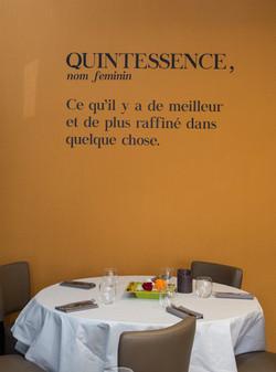 Restaurant Quinte & Sens