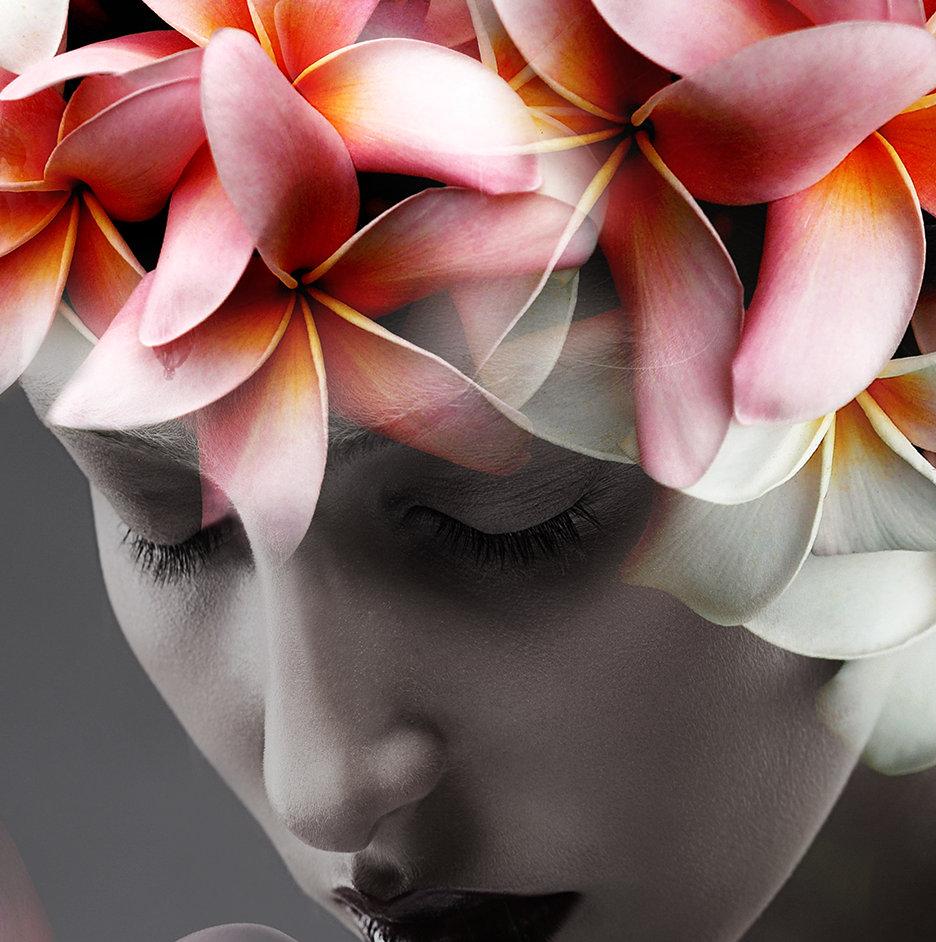Femme en fleur