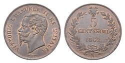5 centesimi Re Vittorio Emanuele II