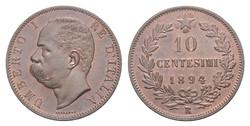 10 centesimi Re Umberto I
