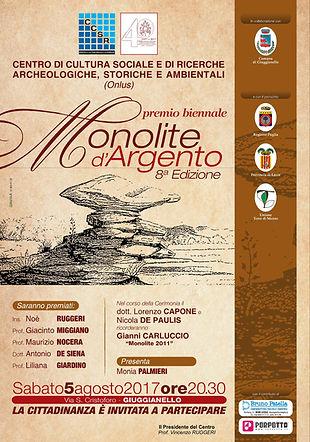 Monolite d'Argento 2017