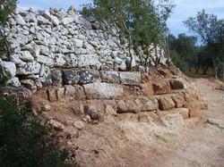 struttura messapica scavi 2006