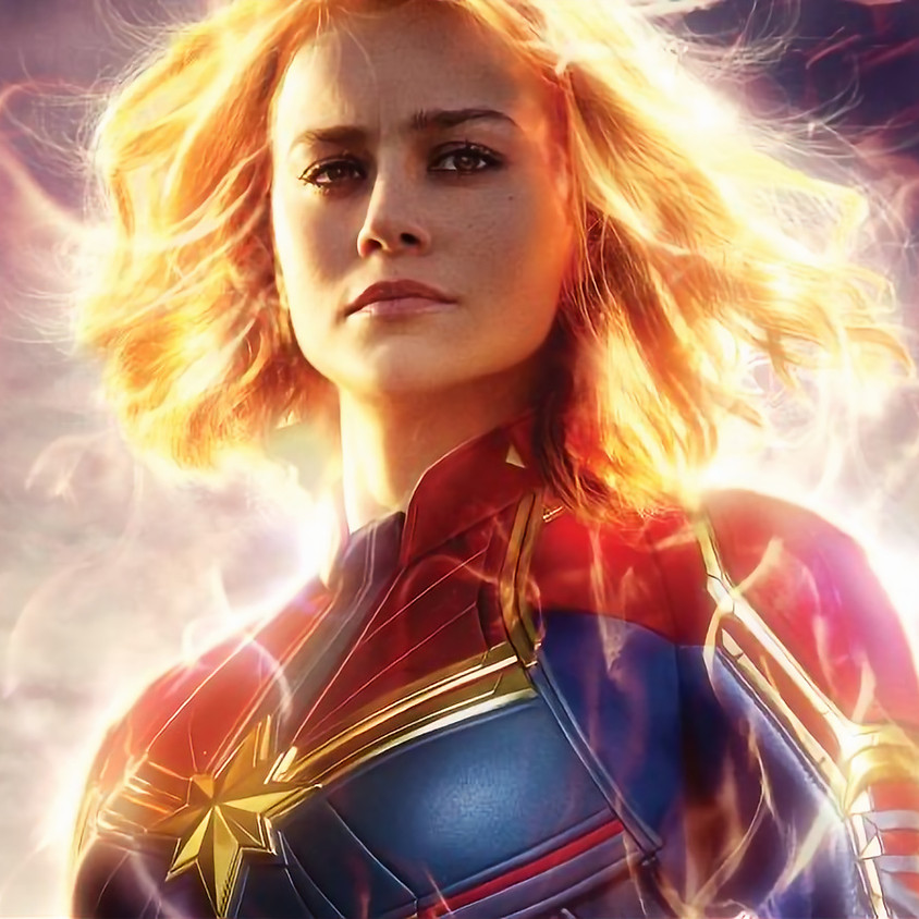 """Movies in the Courtyard """"Captain Marvel"""""""
