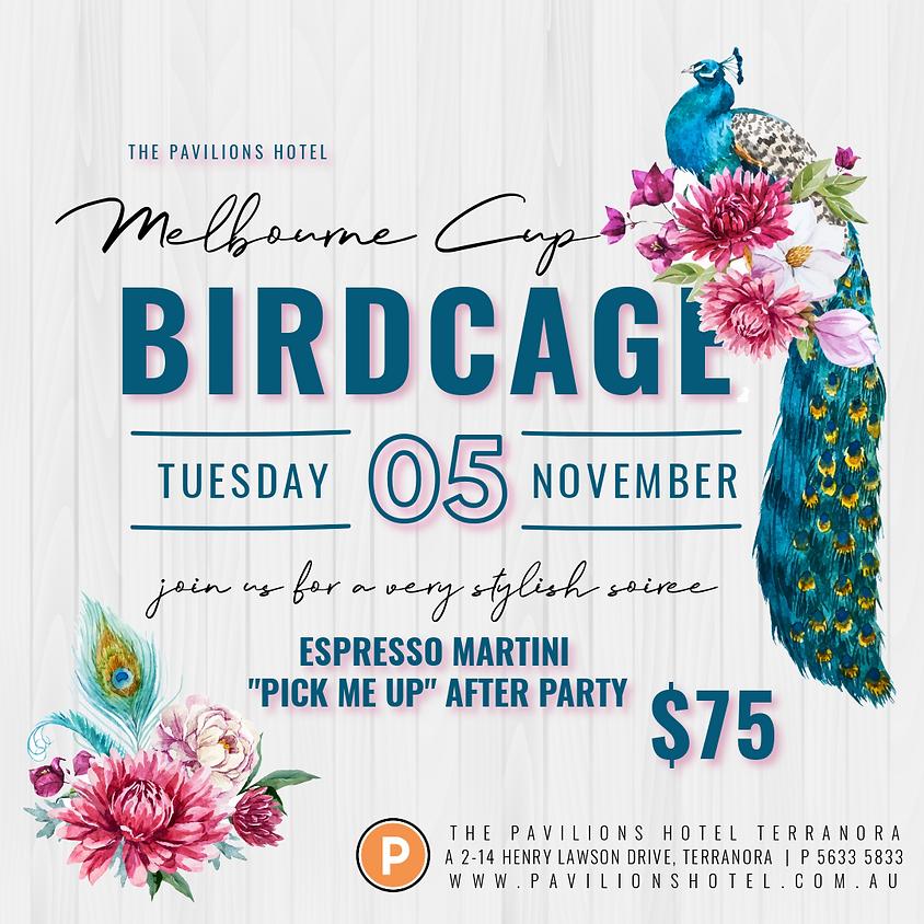 MELBOURNE CUP - BIRDCAGE